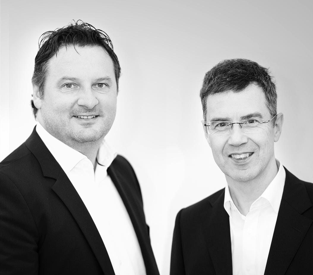 Geschäftsführer Heiko Reddmann und Volker Britt.